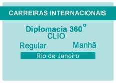 Diplomacia 360º | CLIO | Manhã | Rio de Janeiro