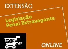 Legislação Penal Extravagante | Extensão | Online