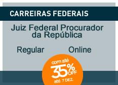 Juiz Federal e Procurador da República   Ênfase   Regular   On-line