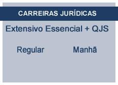 Extensivo Essencial Carreiras Jurídicas | Teoria + QSJ | Regular | Manhã