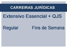 Extensivo Essencial Carreiras Jurídicas | Teoria + QSJ | Regular | Fins de Semana