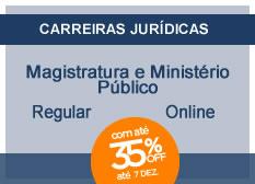 Magistratura e Ministério Público | Regular | On-line