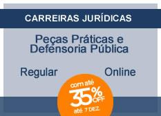 Peças Práticas da Defensoria Pública | Regular | On-line