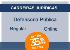 Defensoria Pública | Regular | On-line