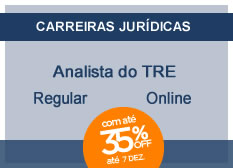 Analista do TRE - Área Judiciária | Regular | On-line