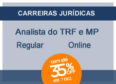 Analista do TRF e MP - Área Judiciária | Regular | On-line