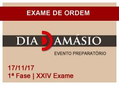 Dia Damásio OAB | 1ª Fase | XXIV Exame 17/11
