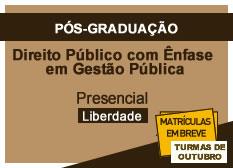 Direito Público com Ênfase em Gestão Pública | Liberdade