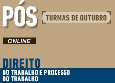 Direito do Trabalho e Processo do Trabalho | Online