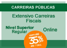 Extensivo Carreiras Fiscais | Nível Superior | Regular | On-line