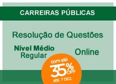 Resolução de Questões | Nível Médio | Regular | On-line