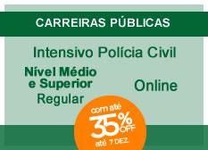 Intensivo Polícia Civil | Nível Médio e Superior | Regular | On-line