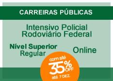 Policial Rodoviário Federal | Nível Superior | Regular | On-line