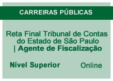 Reta Final Tribunal de Contas do Estado de São Paulo | Agente de Fiscalização  | Online
