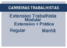 Extensivo Trabalhista | Extensivo + Prática | Regular | Manhã