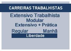 Extensivo Trabalhista | Extensivo + Prática | Regular | Manhã | Liberdade