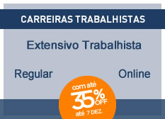Extensivo Trabalhista | Regular | On-line