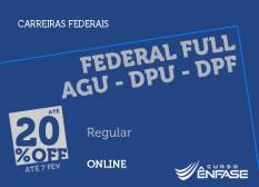 Federal FULL AGU - DPU - DPF | Ênfase | Online