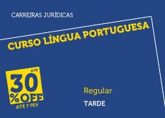 Curso Língua Portuguesa | Regular | Tarde
