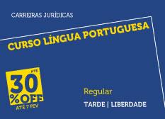Curso Língua Portuguesa | Regular | Tarde | Liberdade