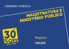 Magistratura e Ministério Público | Regular | Online