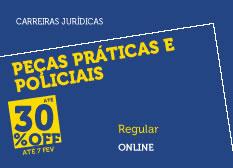 Peças Práticas Policiais | Regular | On-line