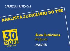 Analista Judiciário do TRE - Área Judiciária  | Regular | Manhã