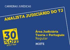 Analista Judiciário do TJ - Área Judiciária | Teoria + Português | Regular | Noite | Liberdade