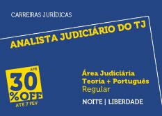 Analista Judiciário do TJ - Área Judiciária | Teoria + Português | Regular | Noite