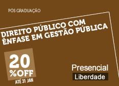 Direito Público com Ênfase Gestão Pública | Liberdade