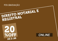 Direito Notarial e Registral | Online