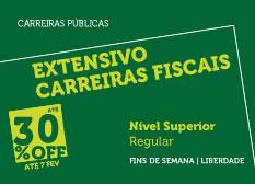 Extensivo Carreiras Fiscais | Nível Superior | Regular | Fins de Semana | Liberdade