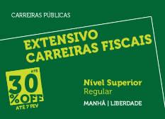Extensivo Carreiras Fiscais | Nível Superior | Regular | Manhã | Liberdade