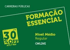 Formação Essencial | Nível Médio | Regular | Online