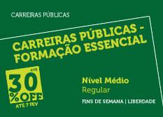 Extensivo Carreiras Públicas - Formação Essencial   Nível Médio   Regular   Fins de Semana